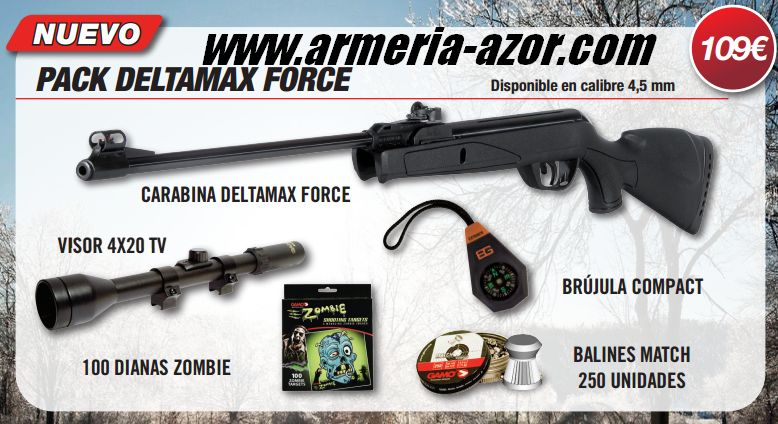 Gamo Pack Deltamax Force 4.5 mm